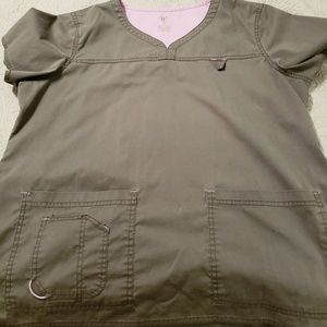 Med Couture Scrub Top - XL